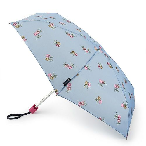 Joules Tiny-2 Umbrella Chinoise Blossoms Frozen Blue